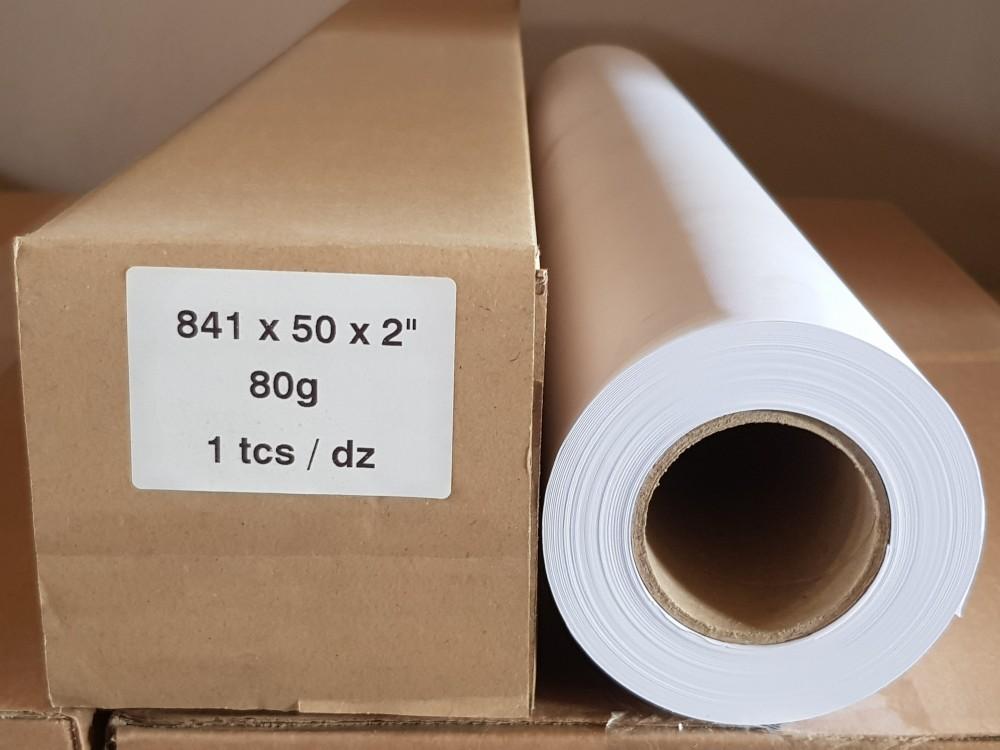 Plotter papír 80g 841mm x 50m tekercs