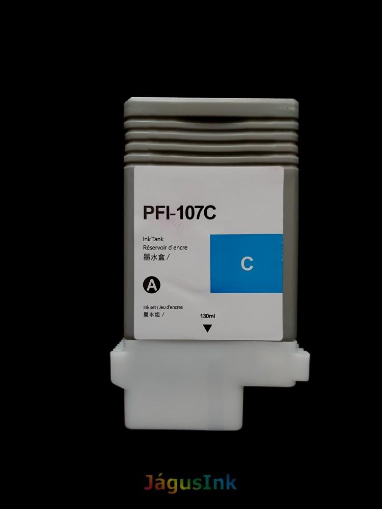Canon PFI-107C tintapatron Cyan/ Cián utángyártott tinta