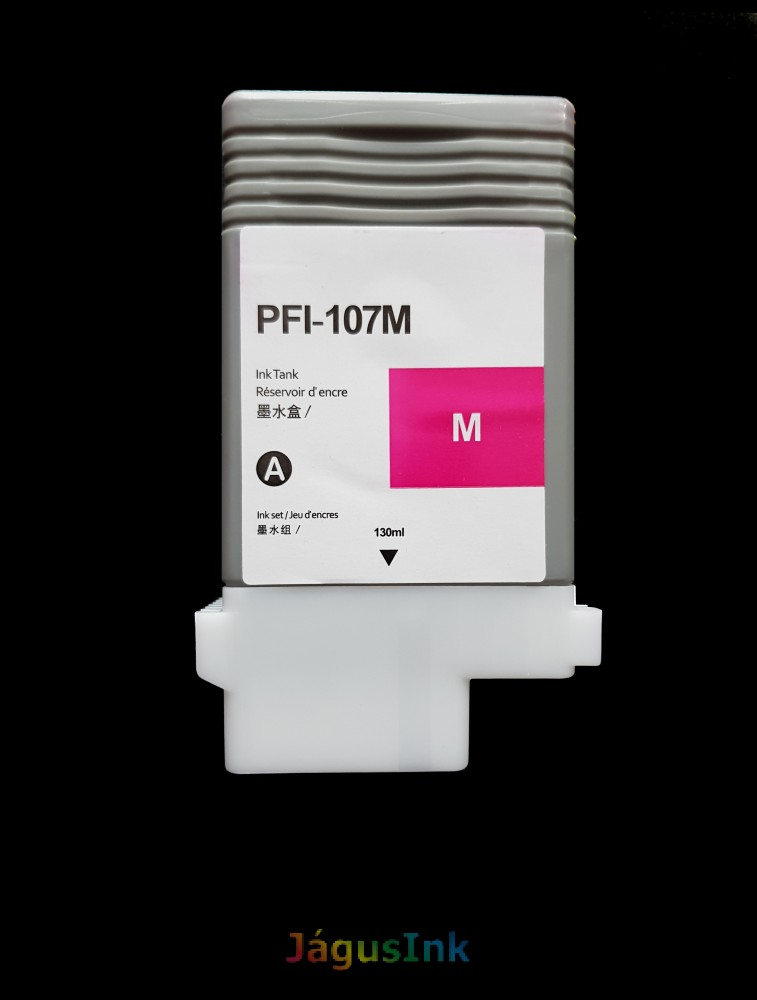 Canon PFI-107M tintapatron Magenta / Bíbor utángyártott tinta