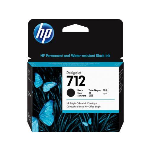 HP 712 Fekete festékpatron 38ml  (Eredeti)