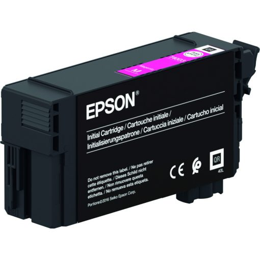 Epson T40C3 Magenta 26ml festékpatron