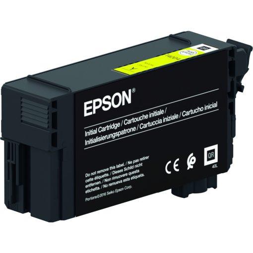 Epson T40C4 Yellow 26ml festékpaton