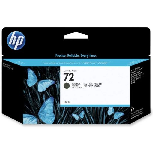 HP C9403A Patron Matt Black No.72 (Eredeti)