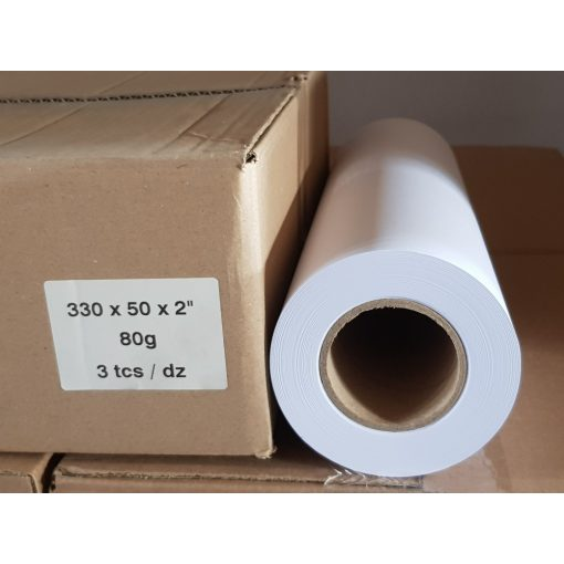 Plotter papír 80g 330mm x 50m