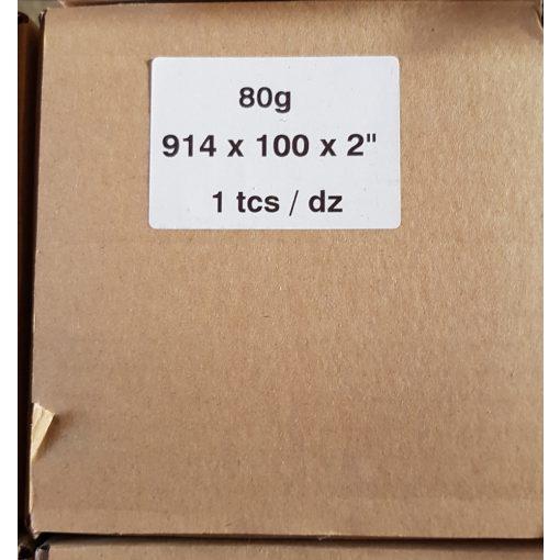 Plotterpapír 80g 91,4cm x 100m