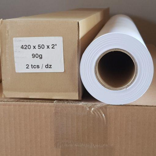 Mérnöki plotter papír 420mm x 50m tekercs 90g