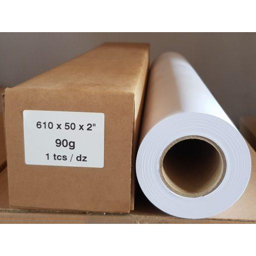 Mérnöki plotter papír 610mm x 50m tekercs 90g