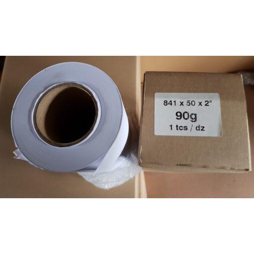 Mérnöki plotter papír 841mm x 50m tekercs 90g
