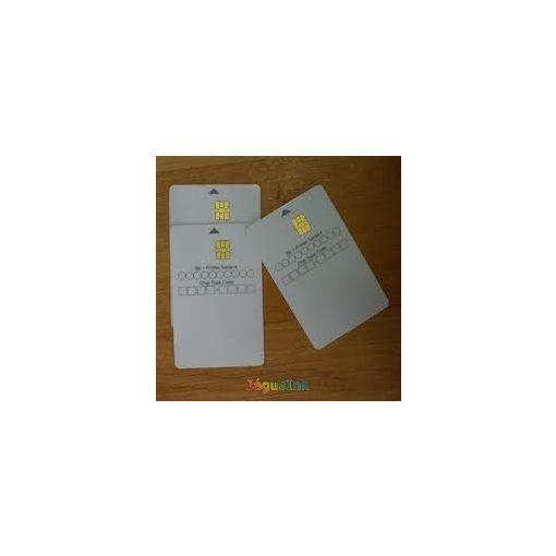 Xerox Yellow smartcard