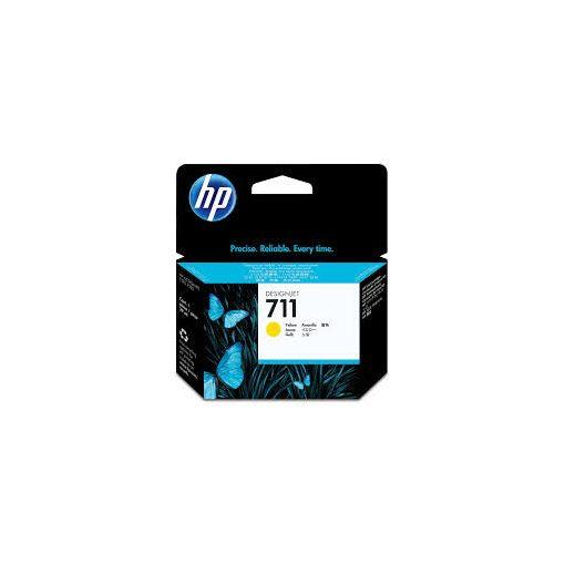 HP 711 29ml Sárga tintapatron eredeti