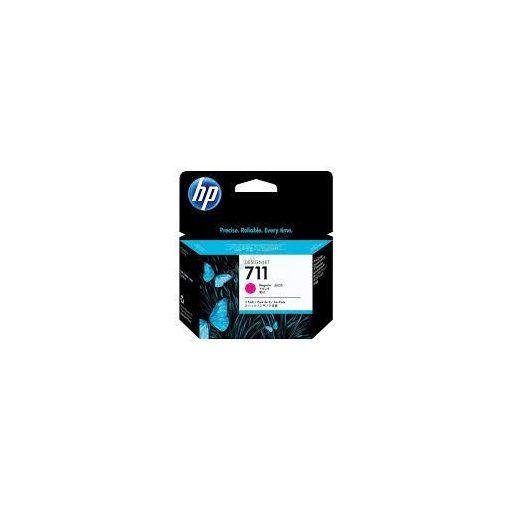 HP711 Magenta tintapack 3x29ml Sárga tintapatron pack