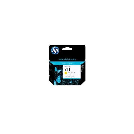HP711 Yellow tintapack 3x29ml Sárga tintapatron pack