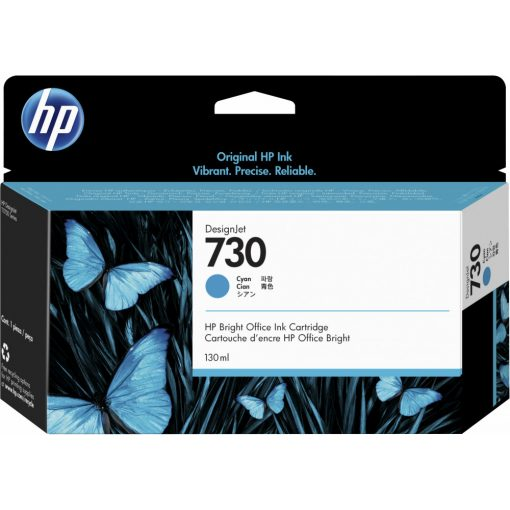 HP 730 Cyan 130ml. festékpatron