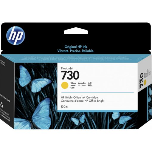HP No.730 Yellow 130ml. festékpatron P2V64A