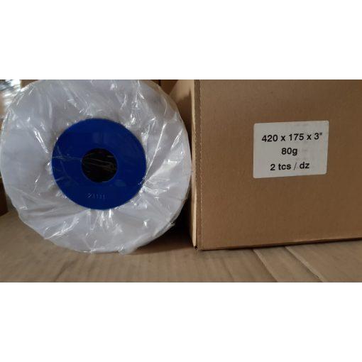 Tekercses mérnöki tervrajzmásoló papír 420mm x175m           2tekercs/doboz