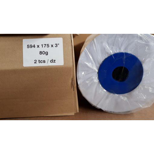 Tekercses mérnöki tervrajzmásoló papír 594mm x175m