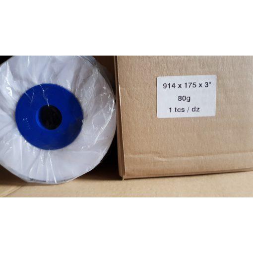 Tekercses mérnöki tervrajzmásoló papír 914mm x175m