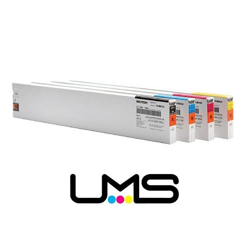 Mutoh UMS 440 ml Yellow + smart chip (Eredeti) VJ-LSINK-YE440